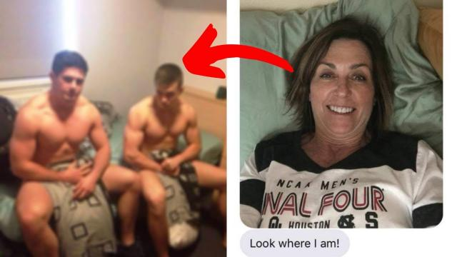 When Mom Sneaks Into Daughter's Dorm Bed, The Prank Quickly Backfires