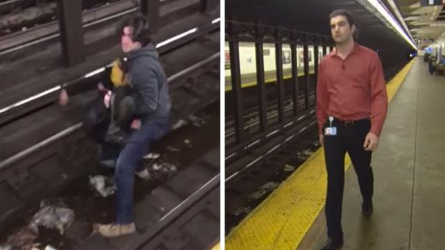 A Commuter Saw A Man Suddenly Fall Onto Subway Tracks – And Knew He Had To Spring Into Action