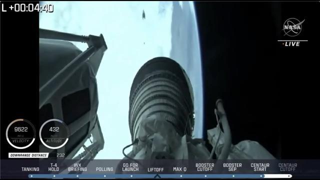 Blastoff! Landsat 9 satellite launches atop Atlas V rocket