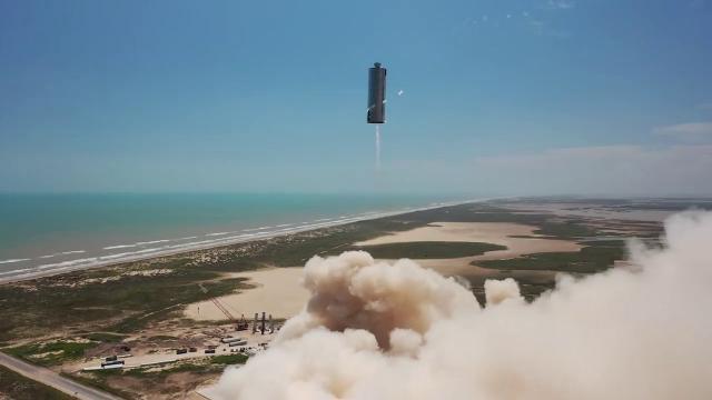 Starship SN6 150m Flight Test