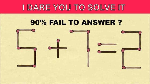 Are You Smart Enough To Solve These Riddles ? 90% WILL FAIL TO PASS SIMPLE CHALLENGE