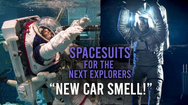 Spacesuits for the Next Explorers:  Preview Trailer 3- New Car Smell