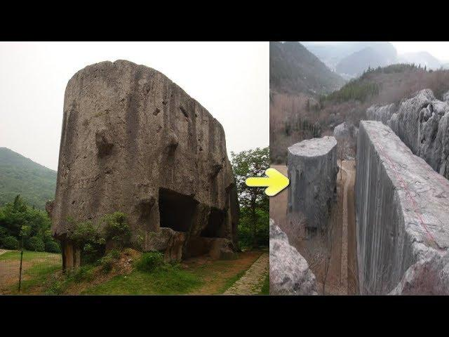 Meet the Super-massive 16,300 ton unfinished stele of ancient China