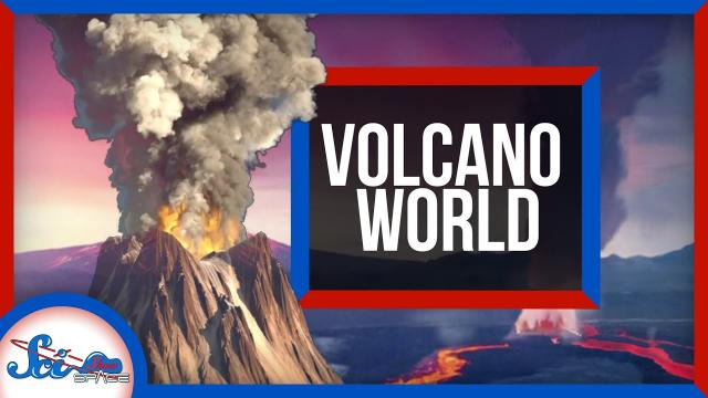 A Planet Only Half Covered in Volcanoes | SciShow News
