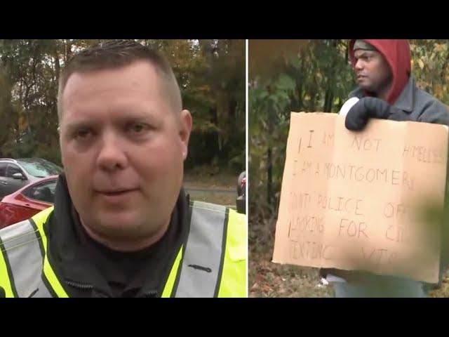 This Man On The Roadside Seemed Harmless, But He'd Actually Set A Trap For Unsuspecting Drivers