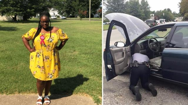 Police Officer Pops Open Woman's Trunk, Lets Her Go After What He Sees