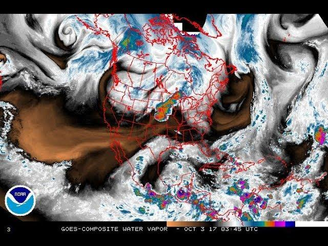 Ulysses style Stream of Consciousness Jibber-Jabber about Global Water Vapor