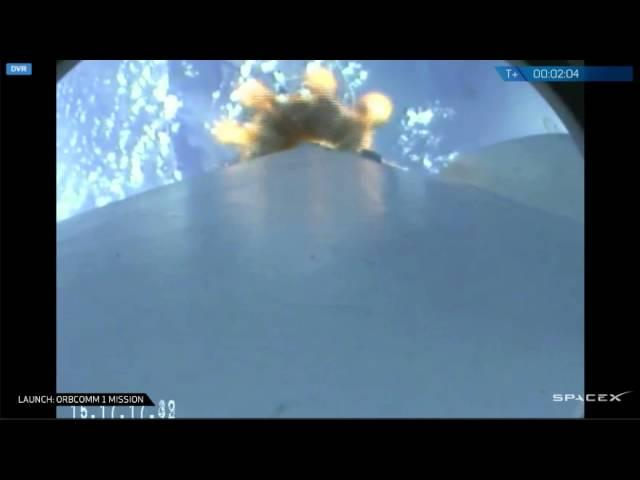 SpaceX Launches Orbcomm OG2 Satellite | Video