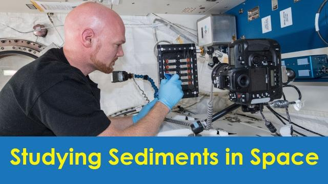 Studying Sediments in Space