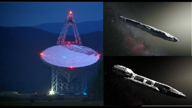 """Today the mysterious interstellar object """"Oumuamua"""" will be scanned for Alien Signals"""