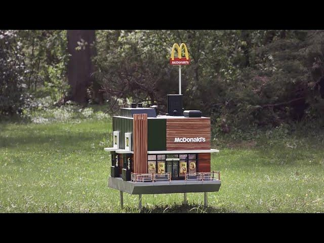 McDonald's Opened A Tiny Restaurant For Bees