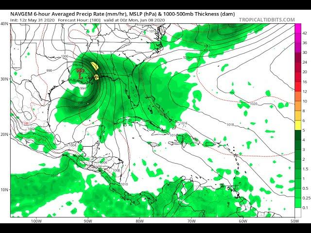 unofficial/official Tropical Storm Amanda Gulf of Mexico WATCH video