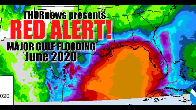 RED ALERT! Major FLOODING for GOM Coastal States regardless of Cristobal becoming a Hurricane