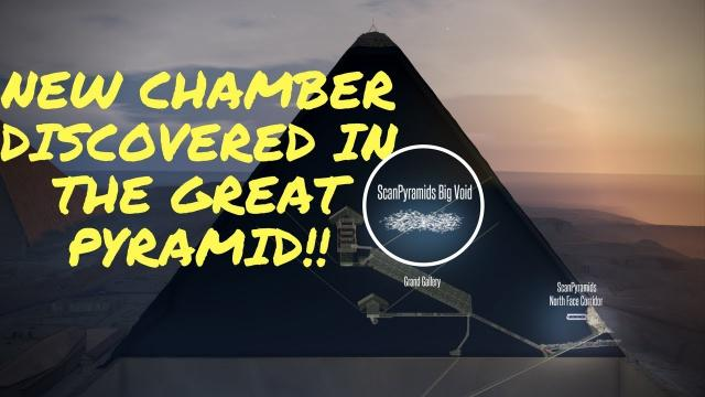 Massive Cavity Discovered Inside The Great Pyramid
