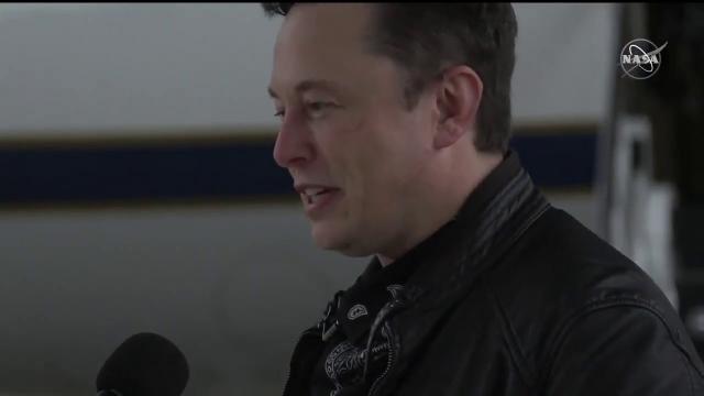 SpaceX head Elon Musk heralds success of Demo-2 crew flight