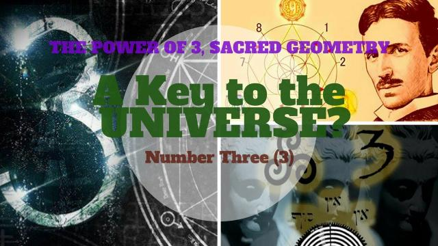 A key to the UNIVERSE? - The Power of the number THREE! 3