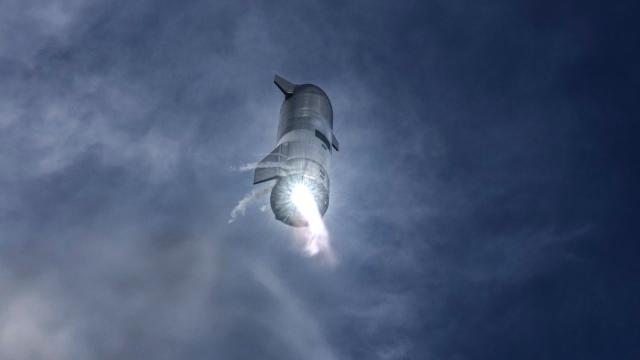 Starship   SN10   High-Altitude Flight Recap