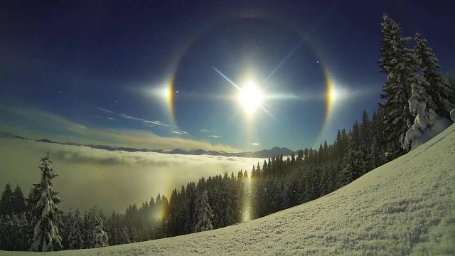 Sun Halos Look Like Something Out Of This World