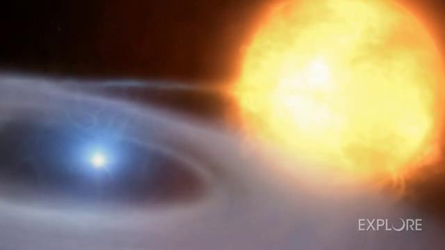 Double star system is a 'cosmic Jekyll and Hyde'