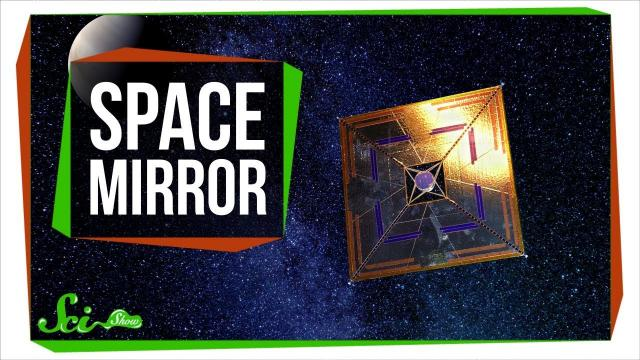 The Space Mirror That Turned Night into Day