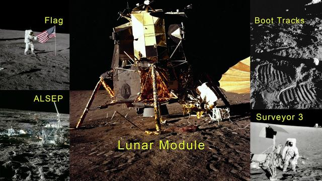New Look at Apollo 12 Landing Site Includes 3D View