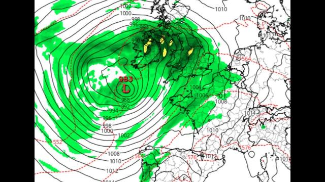 Europe! 6 Storms in 2 1/2 Weeks! Batten down the Hatches!