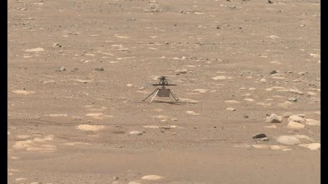 Mars helicopter test flight status updated by NASA