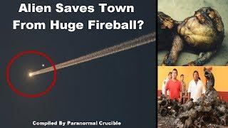 Alien Body Recovered From Fireball Crash?