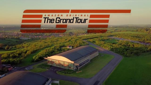THE GRAND TOUR Eboladrome racetrack DRONE 4k SNEAK PEEK