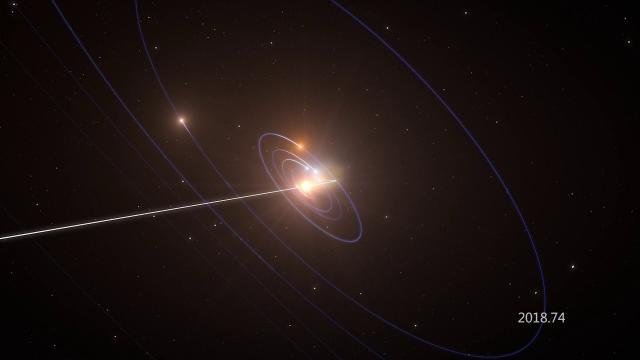 Unusual Looking Interstellar Object's Flight Through Our Solar System - Animation