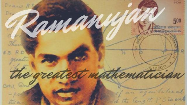Srinivasa Ramanujan: The Dream Thinker