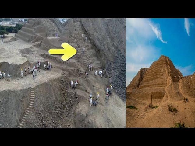 Ancient 600 year old path uncovered by archaeologists