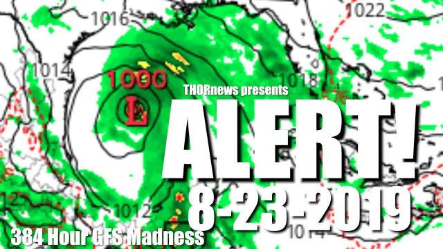 Alert! possible Hurricane in Gulf of Mexico August 23rd. Texas et All