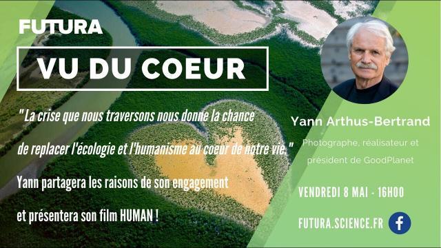 Yann Arthus-Bertrand nous invite à regarder la Terre vue du cœur | Futura