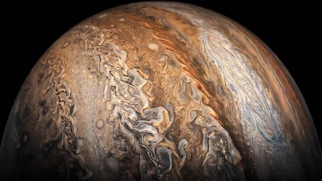 Incredible Views of Jupiter From NASA's 'JunoCam'