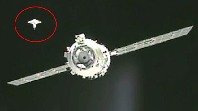 Were UFOs Seen During The Tiangong 1 and Shenzhou 8 Undocking?