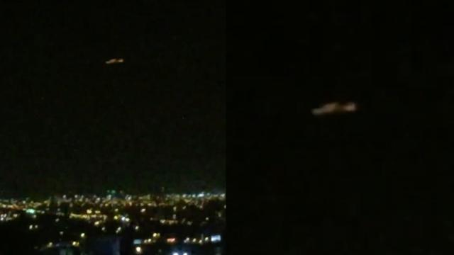 Mysterious UFO Captured Before Disappearing over Lima (Peru) - FindingUFO