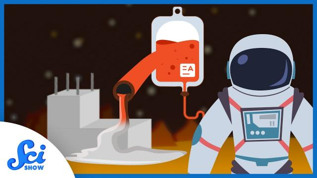 Can You Build Homes in Space With Blood?
