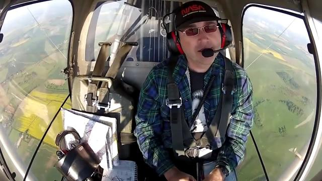 MATT FLIES OVER secret BILDERBERG MEETING 2013 in microlight aircraft