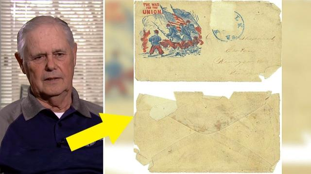 Mailman Sees Stamp On Old Unmarked Letter, Realizes It Was Sent 156 Years Ago