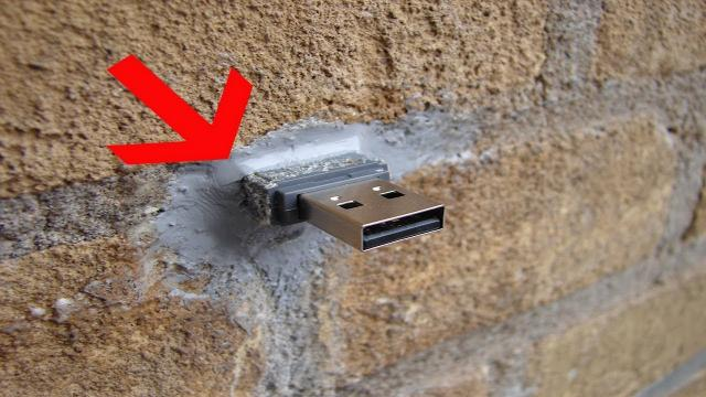 Hidden USB Ports Are Hidden All Over The World And Hold Secret Files For You To Download