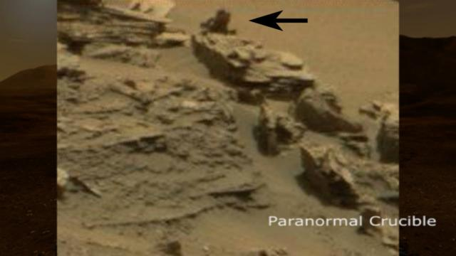 Mystery Shadow Creature Found On Mars?