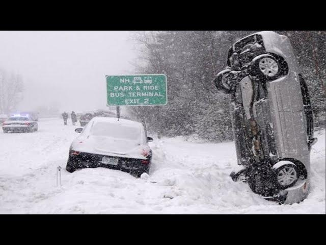 Epic VIDEO:  First Big Snow Storm in Years December 2020