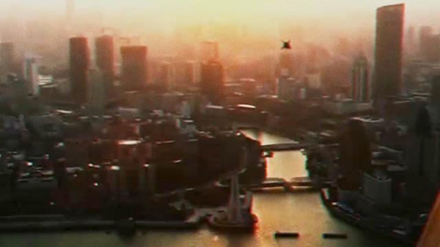 UFO over SHANGHAI filmed by multiple witnesses - Nov 2015 !!!
