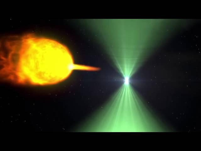 Pulsar's Dramatic Morph Caught by Space Telescope | Video