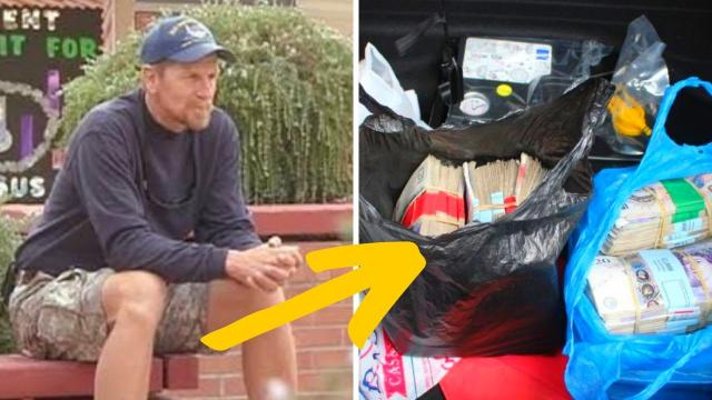 This Homeless Man Who Finds And Returns $40k Gets An Even Bigger Reward