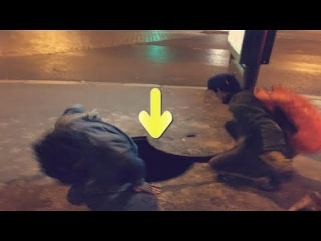 These Friends Found A Secret Entrance And What They Discovered  Is Unreal