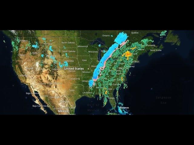 an ornery & unlikeable look at today & next weeks storms
