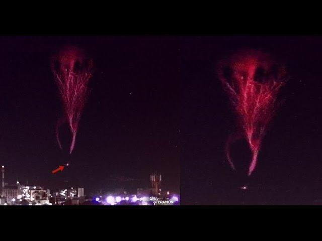 Impressive electrical phenomenon appears in the sky over João Pessoa, Brazil