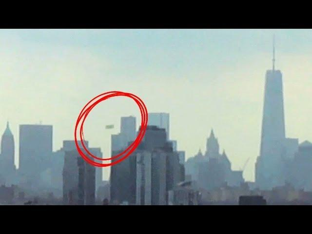 Driver Records A UFO Over New York City July 2014